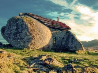 This Stone House In Portugal Is One Of The Best Examples Of Elements Of  Nature Put To Good Use. As Surprising As It May Seem But People Actually  Live In ...
